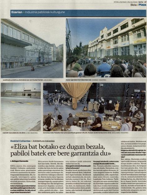 Eraikin industrialei buruz, Berrian (2012/01/28)